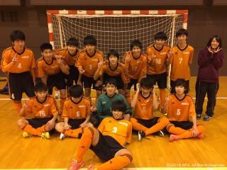 U-18FS優勝中標津高校