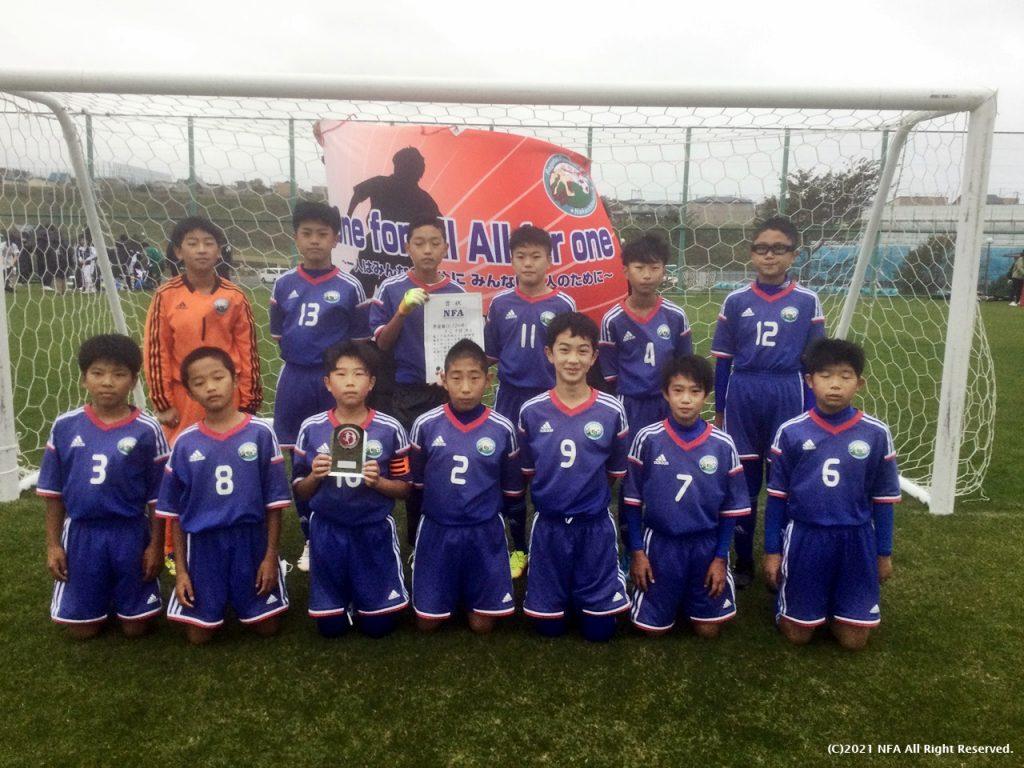 U12準優勝 FC中標津