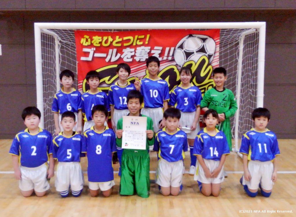 優勝 成央FC